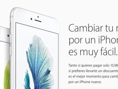Apple estrena en España (y otros países) su plan de renovación de iPhone