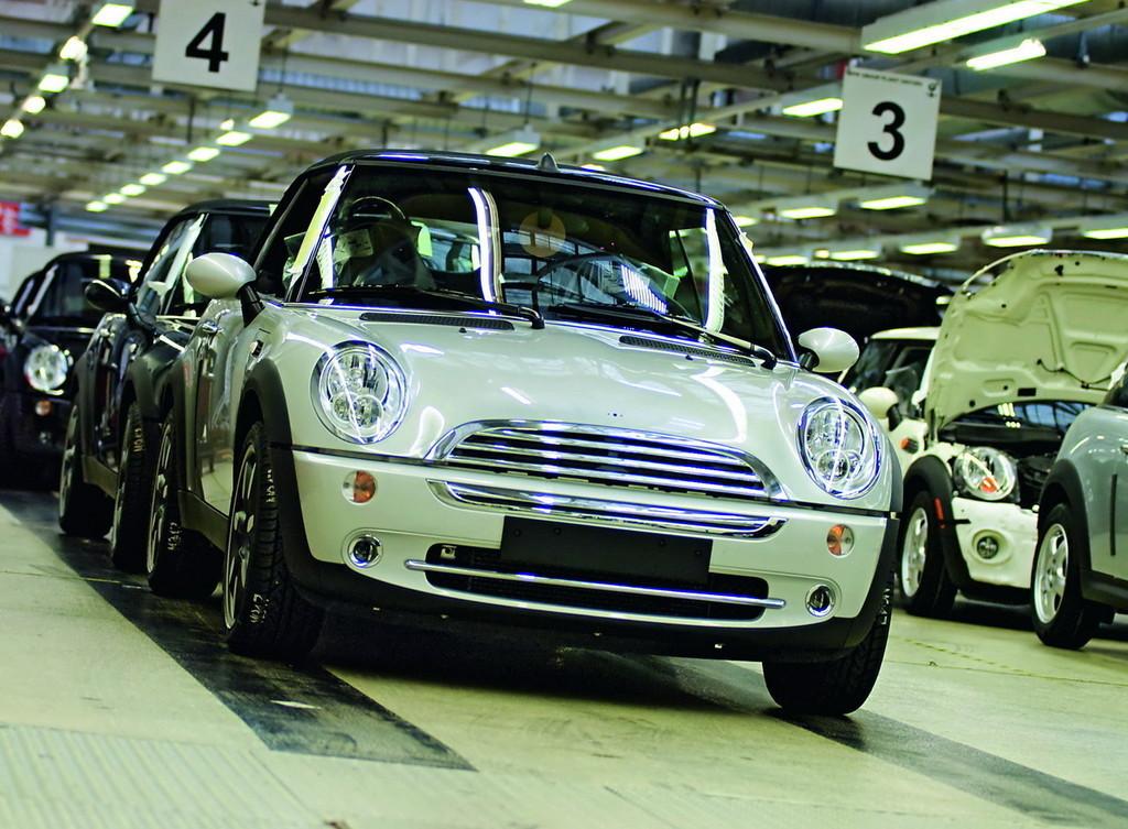Foto de Finaliza la producción del Mini Cabrio (6/7)