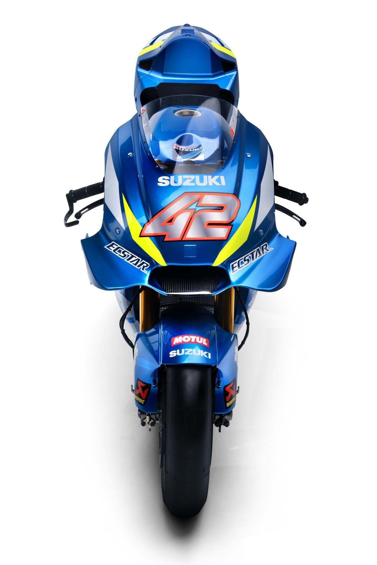Presentación MotoGP Suzuki 2019