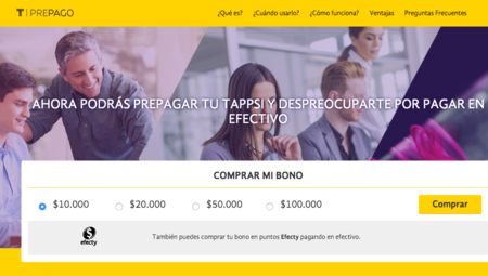 Tappsi lanza un servicio prepago para los usuarios de su plataforma