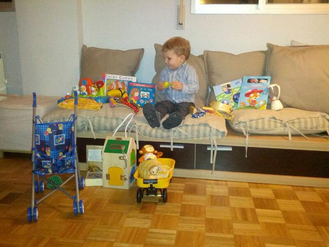 Nicolás y sus juguetes