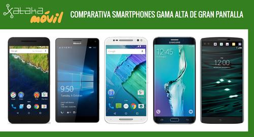LG V10 frente a sus rivales de gama alta y gran pantalla