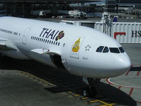 Consejos de Thai Airways para viajar en avión