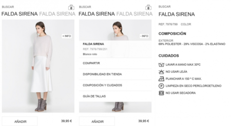 ZARA para Windows 8 y Windows Phone