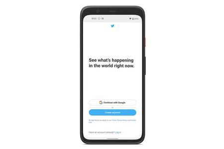 Con la beta de Twitter puedes iniciar sesión con tu cuenta de Google