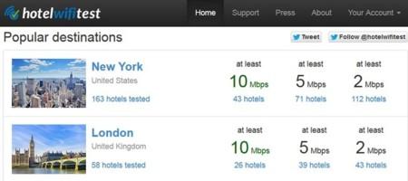 Hotel WiFi Test, una enorme base de datos con la calidad del WiFi en los hoteles