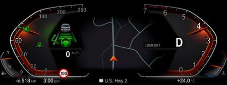 BMW X7 live cockpit