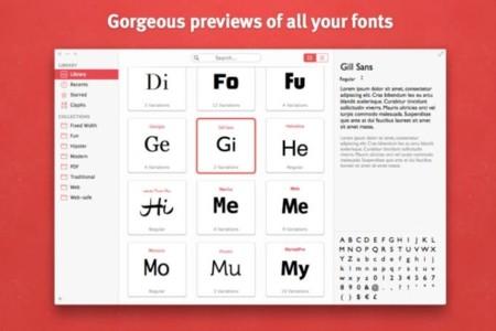 Fonts: Bohemian Coding presenta un nuevo gestor de fuentes con una interfaz interesante