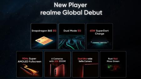 El Realme X50 Pro 5G, según datos oficiales