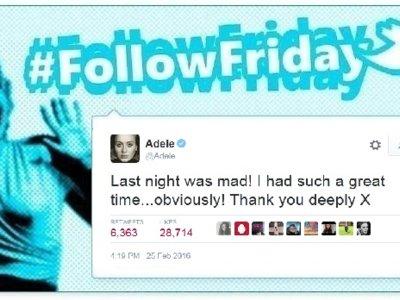 #FollowFriday de Poprosa: los Brits se vivieron en los móviles
