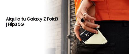 Probar gratis un Galaxy Z Fold3 o alquilar un Galaxy Z Flip3: Samsung trae el renting a sus plegables