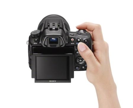 Sony A37, nueva cámara con espejo translúcido de entrada