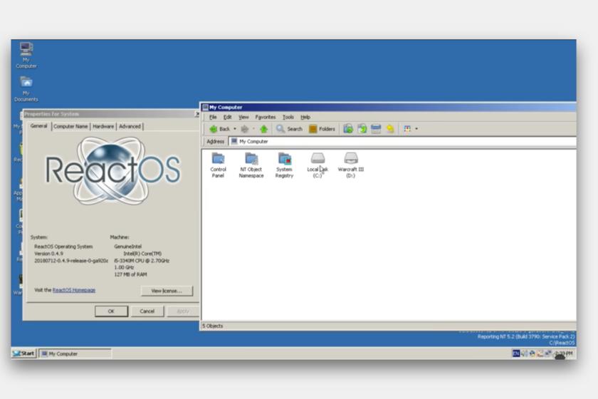 ReactOS, el clon open source de Windows acaba de lanzar una nueva versión