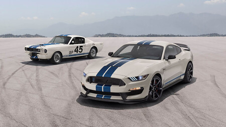 Fordd Mustang Gt350 Heritage Edition