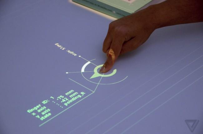Transformar cualquier superficie en una pantalla interactiva es el nuevo proyecto de Sony