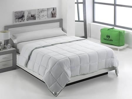 El edredón nórdico para camas de 150 cm de Sabanalia está rebajado a 31,99 euros en una oferta Flash de Amazon