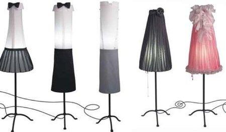 Lámparas bien vestidas de Angelika Morlein