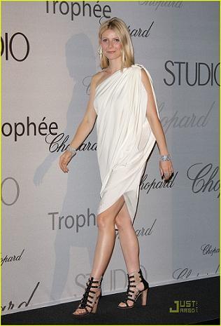 Gwyneth Paltrow en la gala Chopard Trophy Award