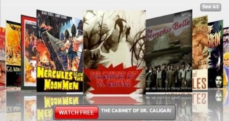 FilmOn, contenido en HD a tiempo real