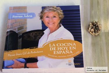 La cocina de hoy en España. Libro de cocina