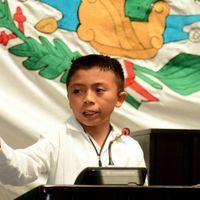 El magistral discurso de un niño de 12 años con el que arremetió contra toda la clase política mexicana