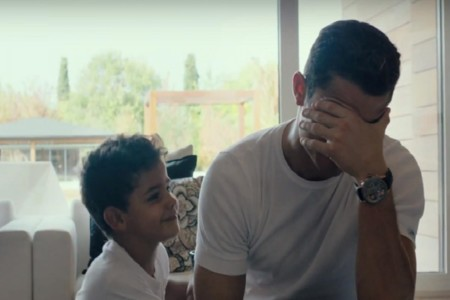 Ronaldo Con Su Hijo