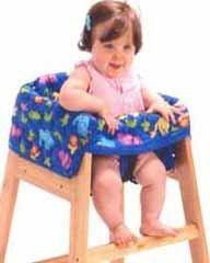Funda para sillas altas de restaurante
