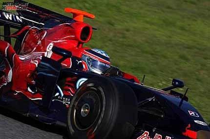 Los Toro Rosso lideran la primera jornada de pruebas