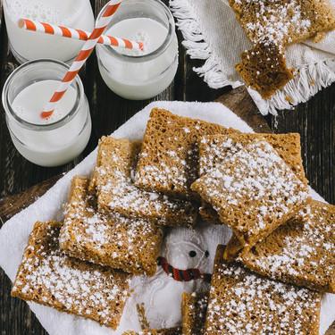 Galletas navideñas de jengibre y vainilla. Receta dulce de Navidad