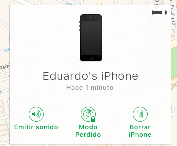 apple recuperar iphone robado