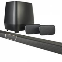 Polk Audio pone a la venta la MagniFi Max SR, su nueva barra de sonido con altavoces surround separados