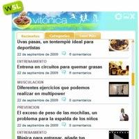 Vitónica y todo WeblogsSL en tu escritorio