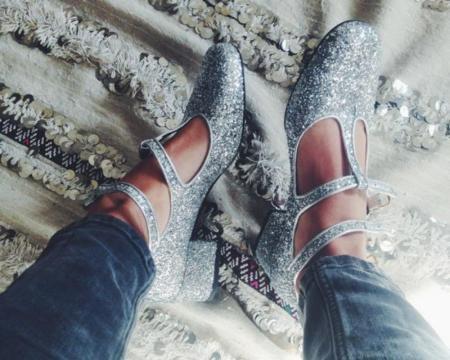 10 zapatos glitter con los que sumarte a la moda Saint Laurent