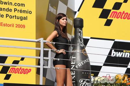 Azafata podium