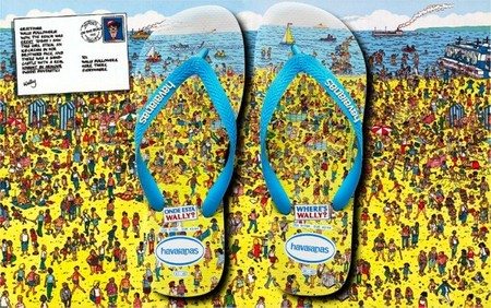 "¿Dónde está Wally? es la última de las propuestas de Havaianas ""from the beach to the city"""