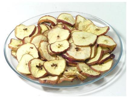 rodajas manzana secas