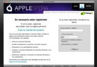 Registrarse en Applesfera, mucho más fácil y rápido