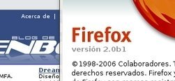 Firefox 2 Alpha 1, la última aventura del panda rojo