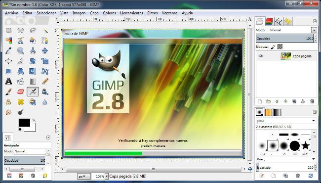 Gimp 2 8 La Aplicación Oficial Para Windows Ya Se Puede Descargar