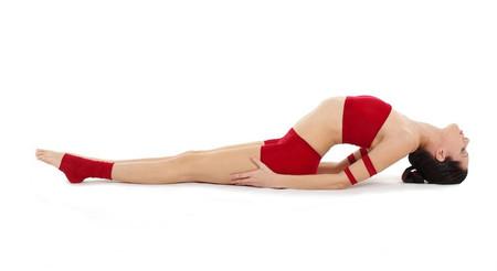 Matsyasana Yoga Asana Nina Mel