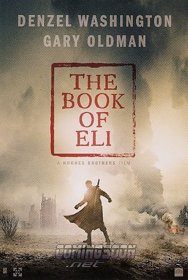 'El libro de Eli', póster