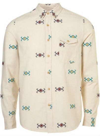 Enamorado de las camisas estampadas de Topman