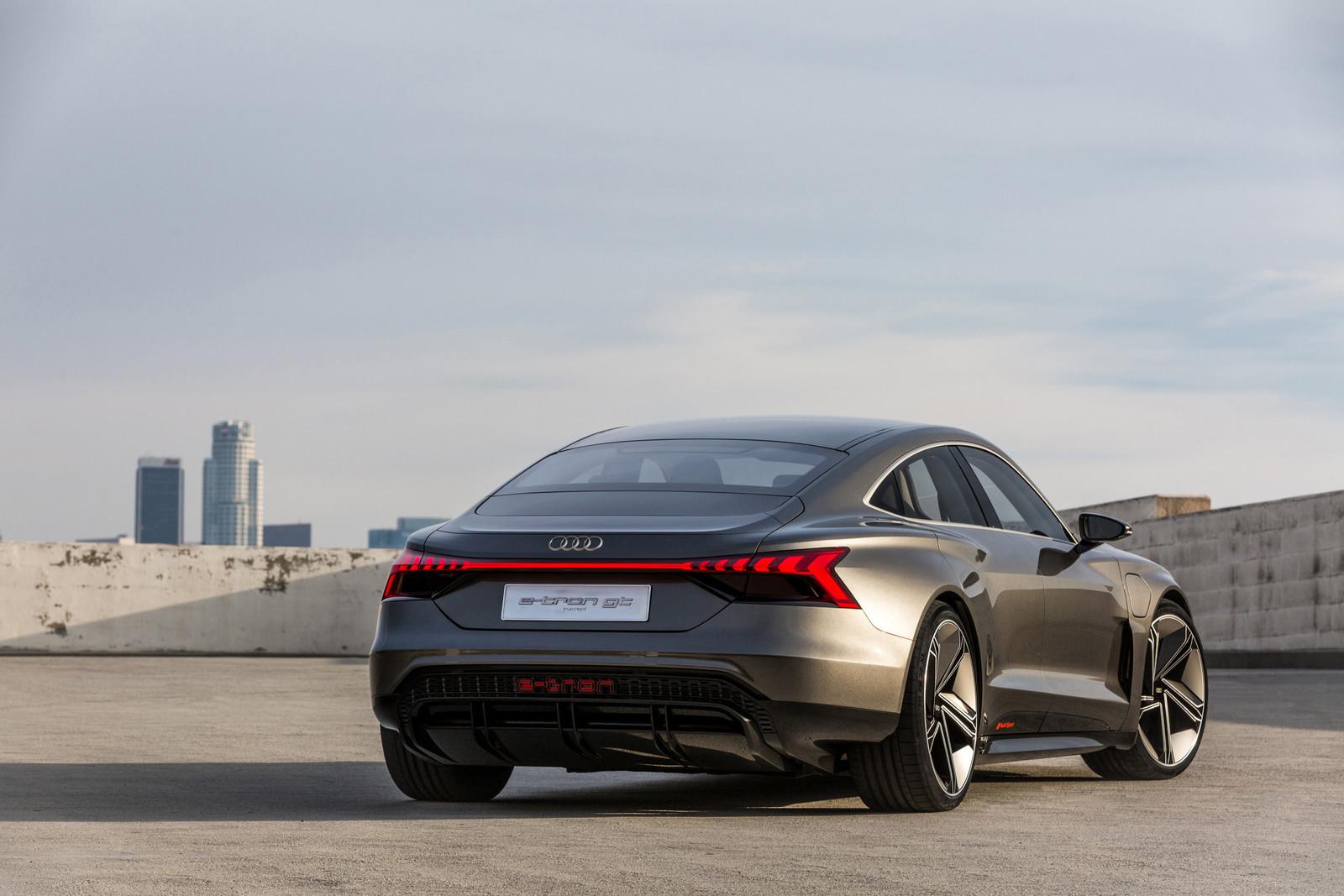 Foto de Audi e-tron GT concept 2018 (41/55)