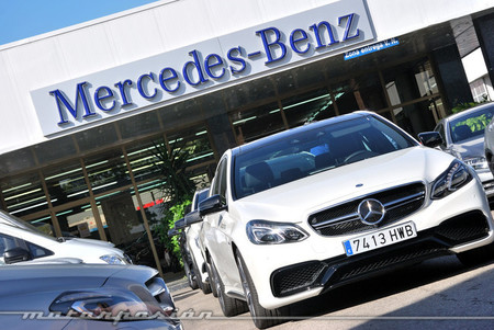 Algo ha cambiado en Mercedes-Benz, la prueba (parte 1)