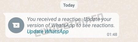 Whatsapp Reacciones Mensajes