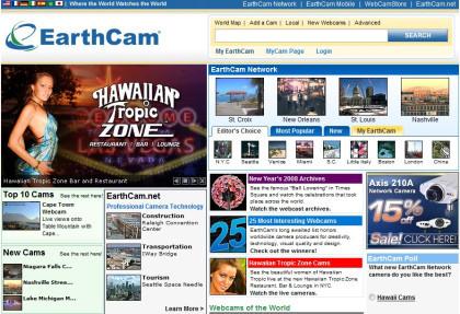 EarthCam: red social global de webcams