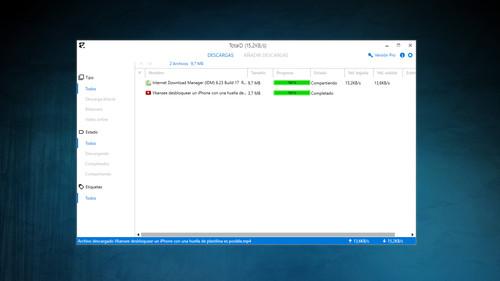 Así es TotalD, un elegante nuevo cliente híbrido de descarga directa y BitTorrent
