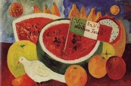 Pinturas Frida Kahlo Inspiradas Comida Frases Mas Inspiradoras Ljuan Farrill