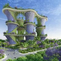 Hyperion: el proyecto de barrio vertical autosuficiente en la India