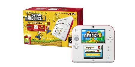 Reacondicionada sin usar, la Nintendo 2DS Special Edition  con Super Mario Bros 2, nos sale en los eBay Days por sólo 66,03 euros